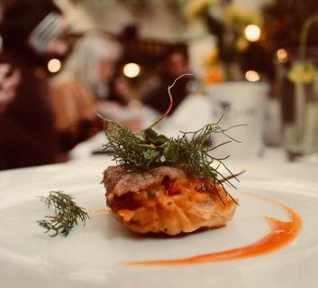 Tamal de estofado de bodas con lengua (Chef Josefina López / Chapulín /Tamaliza 2018)