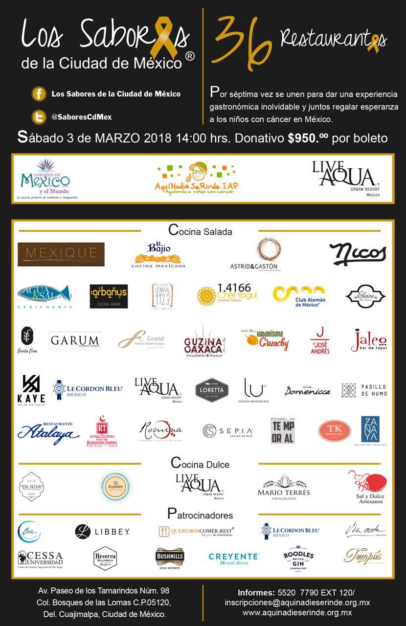 Los Sabores de la Ciudad de Mexico 2018