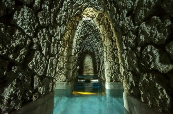 Foto via The Mayan Baths