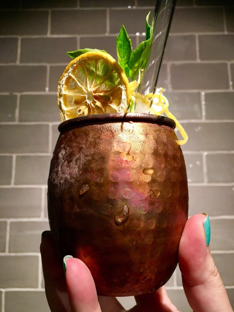 Moscow Mule (Dry Martini Mexico)